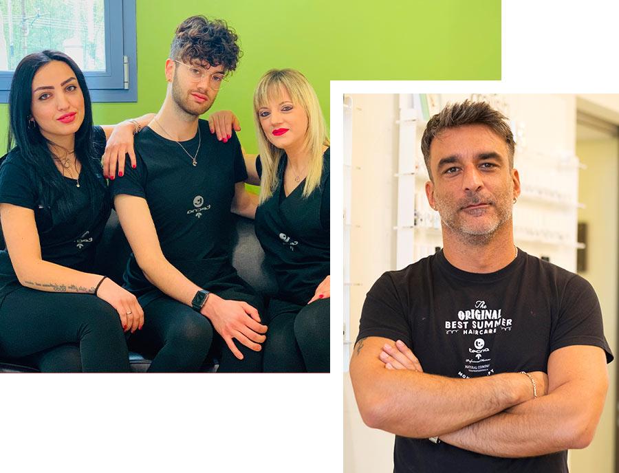 David Hair Group Staff